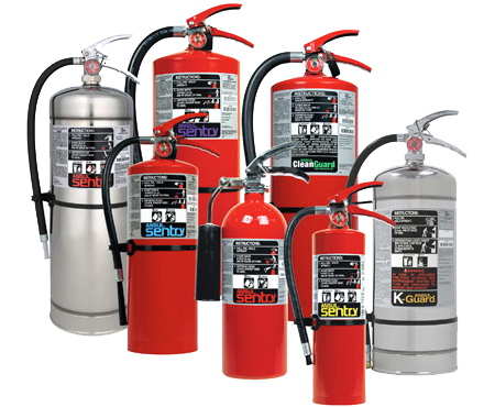 Sentry Series Fire Extinguishers